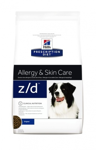 Hill's Canine Z/D Allergen-Free ��� ����� ������� ������ ������� ��������