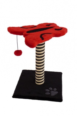 "Papillon Когтеточка ""Бабочка"" (Cat scratcher papillon red/black)"