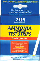 API ������� ���� ������ - ������� ��� ����������� ������ ������� Ammonia Aquarium Test Strips