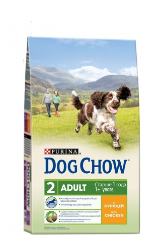 Dog Chow ��� �������� ����� � ������� (Adult Chicken)