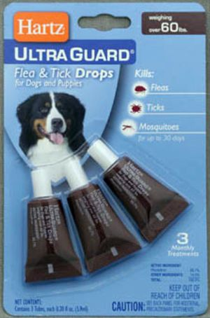 Hartz ����� ����� ������ ���� ������������������ ��� ����� � ������  Ultra Guard Drops for Dogs and Puppies