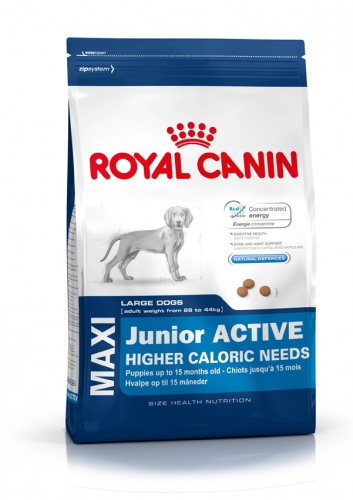 Royal Canin Maxi Junior Active ��� ���������� ������ ������� �����: 2-15 ���.