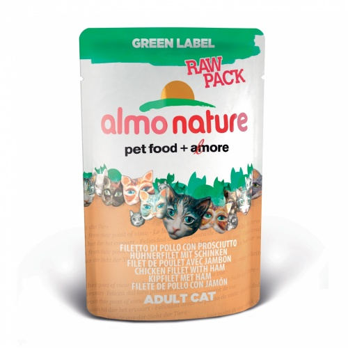 Almo Nature ����� 75% ���� ��� ����� (Green label Cat) 55 �
