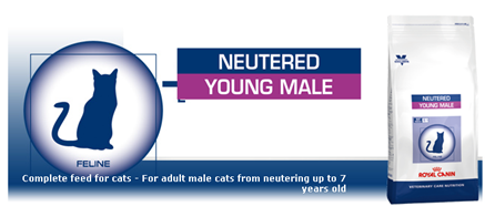 Royal Canin NEUTERED YOUNG MALE ��� �������������� ����� � �������� �� 7 ���