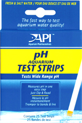 API  pH �������� ���� ������ - ������� ��� ����������� ������ pH � ����������� ���� �H Aquarium Test Strips