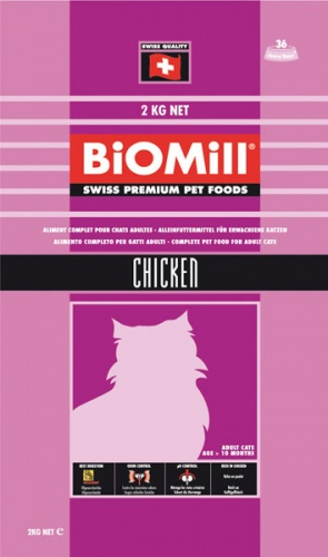 BiOMill Cat Classic Chicken / �������������� ������������������ ���� ��� ����� �� 8 ������ (������)