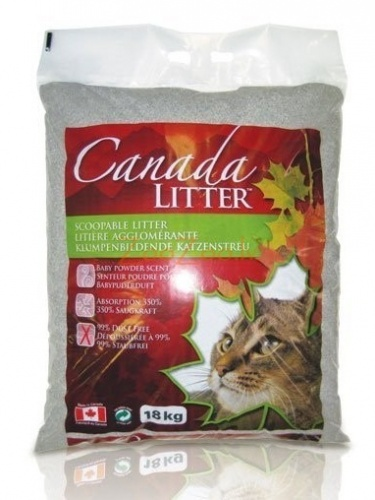 "Canada Litter ��������� ����������� ����������� ""����� �� �����"" � �������� ������� �������� (Scoopable Litter)"