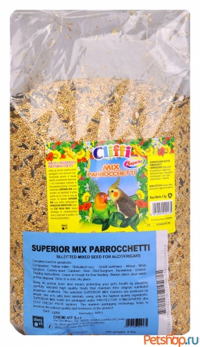 Cliffi (������) ��� ������������� �������� (Superior Mix Parakeets)