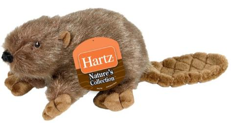 Hartz Nature's Collections Animals Dog Toy Зверушка, мягкая