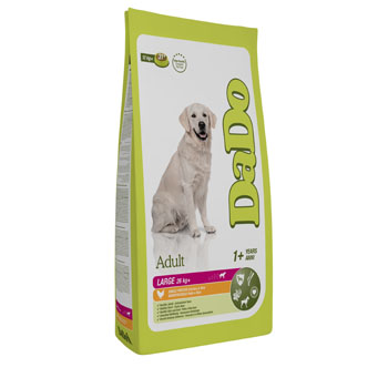 "���� ""����"" �/����� ������� �����, � ������� � ����� . DaDo Adult Dog Large Breed Chicken & Rice"