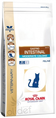 Royal Canin Gastro Intestinal Moderate Calorie GI-35 ��� ����� - ����� ��� ��������� ����������� � ��������� ����������� �������