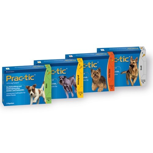 Elanco практик капли инсектоакариц.  для собак