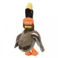 Hartz Игрушка д/собак - Утка-пищалка, мягкая   NC QUACKERS DOG TOY