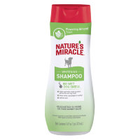 Nature's Miracle SHAMPOO ODOR CONTROL WHITE 24/16 OZ, Шампунь для белых собак