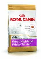 Royal canin westie adult сухой корм роял канин для собак породы вест хайленд уайт терьер