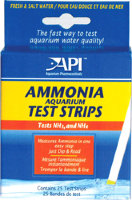 Api аммония тест стрипс - полоски для определения уровня аммиака ammonia aquarium test strips