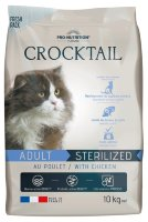 Flatazor CROCKTAIL STERILISE et/ou LIGHT (курица) для кошек
