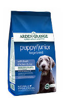 Arden grange puppy junior large breed для щенков и молодых собак крупных пород