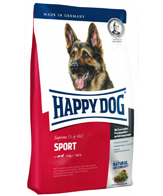 Happy dog Спорт эдалт  ФитВел
