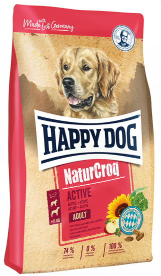 Happy dog НатурКрок Актив
