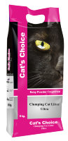 Indian Cat Litter Cat's Choice Baby Powder наполнитель